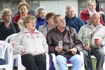 Festivalem dechovek si o víkendu připomněli obyvatelé a návštěvníci Trhových Svinů místního rodáka, skladatele Karla Valdaufa.