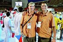 Už samotný začátek letní univerzíády byl velkým zážitkem pro českobudějovické volejbalisty.