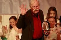 Adolf Born převzal na Anifilmu v Třeboni cenu za celoživotní dílo.
