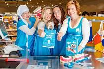 V rámci preventivního programu Veselé zoubky si znalosti základní hygieny osvěží nejen žáci prvních tříd, ale také zákazníci prodejen dm.