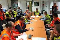 V Jaderné elektrárně Temelín se v úterý 10. září 2019 uskutečnilo havarijní cvičení, letos už osmé. Online propojení spojilo simulátor a havarijní štáb v reálném čase.