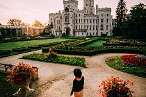 Hluboká nad Vltavou - jedna úspěšná fotografie projektu.