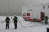 Loni absolvovali hasiči v elektrárně 92 cvičení.