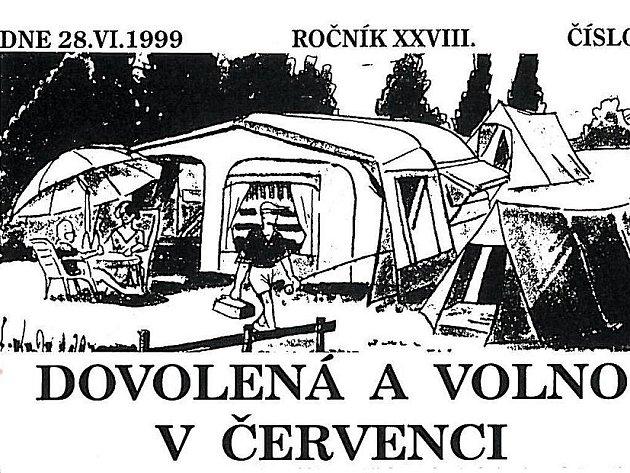 Ilustrace k článku v celozávodním časopise Hlas Jitky.