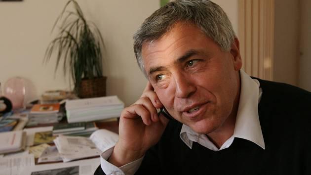 Miroslav Krejča po zvolení senátorem v roce 2008.