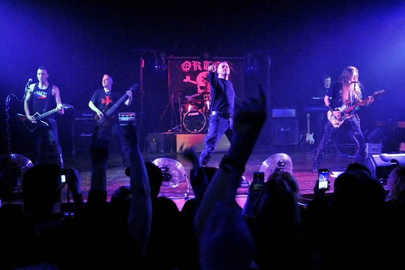 Koncert kapely Ortel v Holýšově.