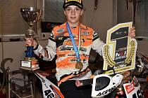 Václav Janout se stal mistrem Itálie ve třídě 85 ccm.