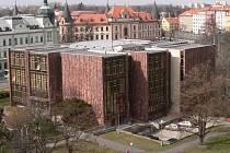 Jihočeská vědecká knihovna v Č. Budějovicích.