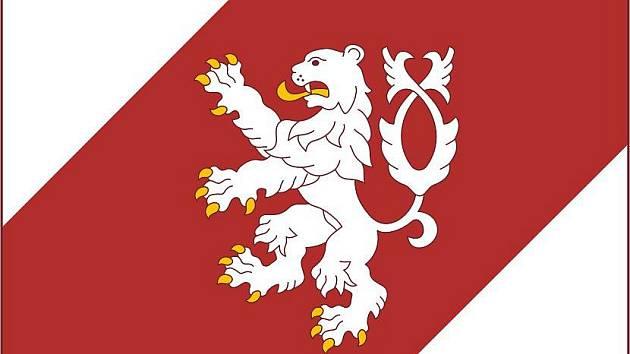Symbolem Lišova bude dvouocasý lev se zlatou zbrojí.