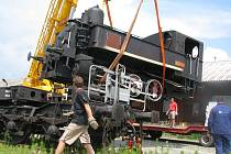V sobotu zmizela od českobudějovického nádraží parní lokomotiva.