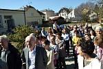 Nové Komunitní centrum a knihovnu slavnostně otevřeli v sobotu v Nových Hradech.