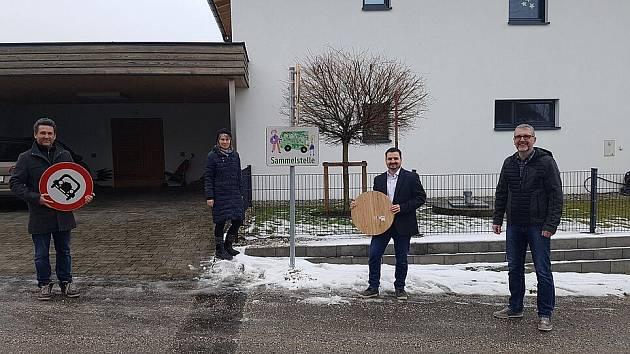 Bambusobé cedule mají první v Rakousku.
