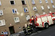 Dům, v němž při požáru zemřela seniorka.