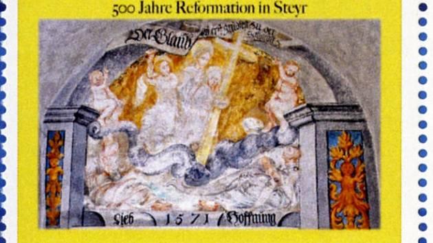 Steyr k jubileu reformace.