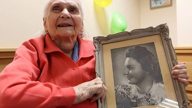 Marie Jakešová oslavila 100 let.