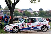 Jan Jinderle na trati Rallye Český Krumlov.