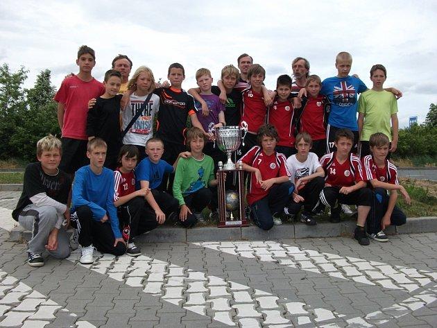 Fotbalisté Dynama ČB vyhráli mládežnický turnaj ve Francii