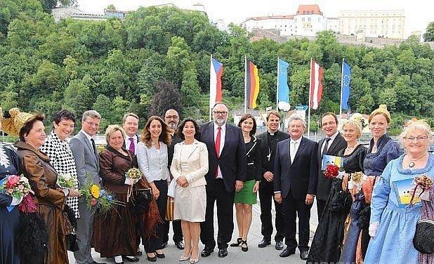 Hosté zahájení Evropských týdnů.