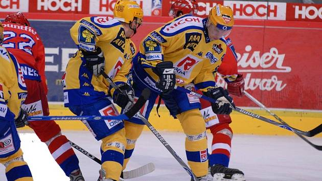 Po tříleté přestávce se na českobudějovický led vrátil tentokrát v dresu Zlína slovenský obránce Miroslav Ďurák a spolu se svými spoluhráči musel spolknout hodně vysokou porážku 1:6.
