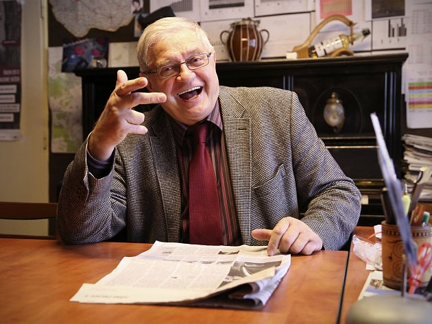 Karel Daňhel, ředitel táborského Divadla Oskara Nedbala.