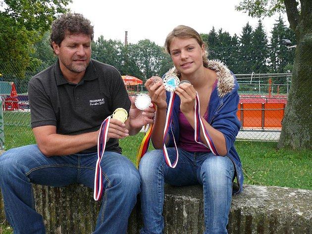 Simona Šimůnková se může pochlubit cennými medailemi