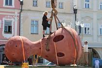 České Budějovice ovládlo umění v ulicích.