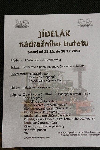 Vláčky v Čížkrajicích.