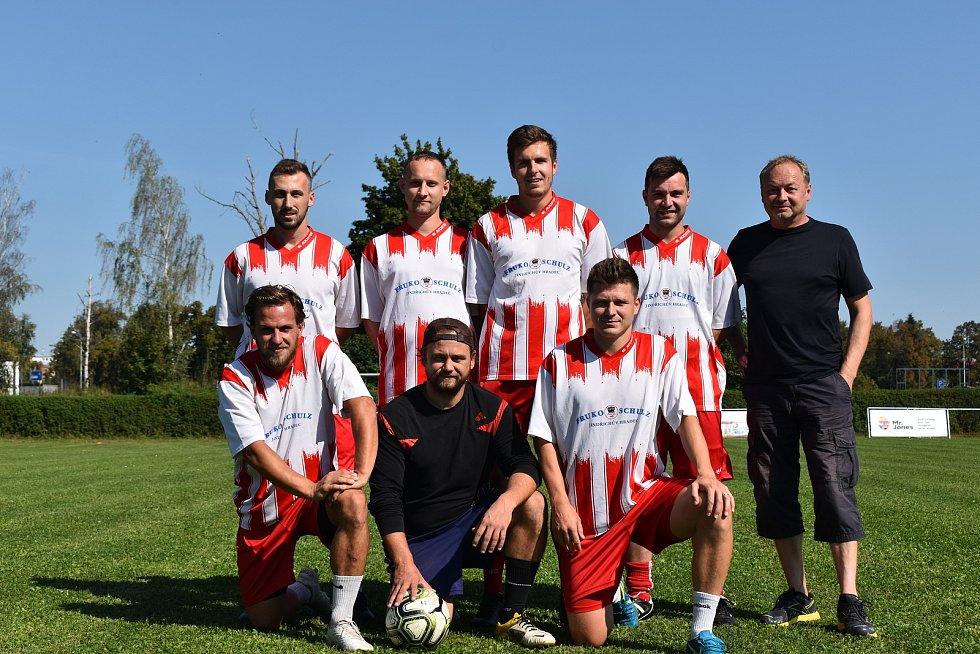 Prvního ročníku Zaměstnanecké ligy Deníku se v úterý účastnil tým Fruko Schulz.