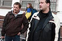 První propuštění z budějovické věznice.