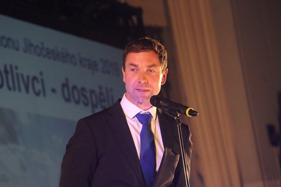 Slavnostní vyhlášení Sportovce regionu 2019. Vítězem ankety se stal letec Martin Šonka.