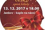 Česko zpívá koledy v Jankově.