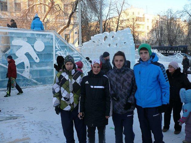 Jihočeské fotbalové výběry v Jekatěrinburgu