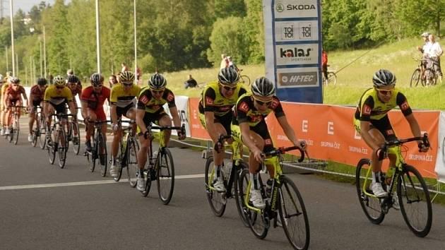 Táborští cyklisté zcela ovládli v mužské kategorii závody ve Strmilově a Žirovnici