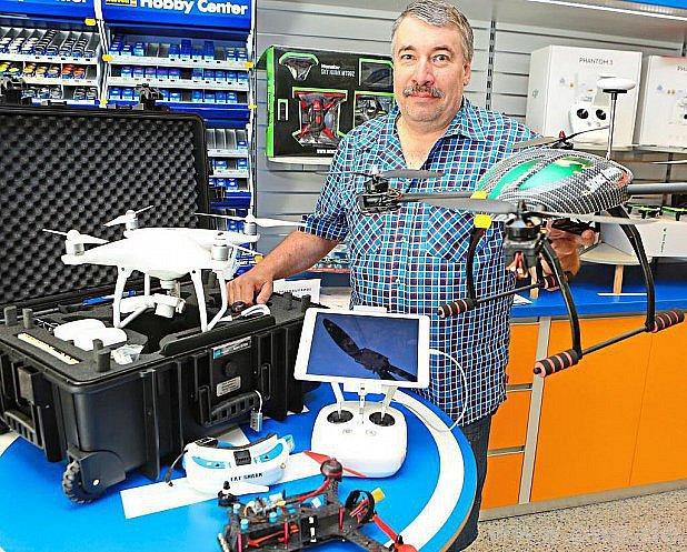 Prodejce dronů Unholzer zPasova.