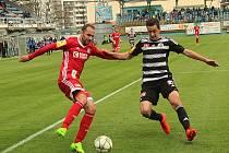 Jarní sezona pokračuje pro Dynamo sobotním zápasem ve Frýdku - Místku (snímek je z domácího utkání s Olomoucí, který prohrálo 2:5).