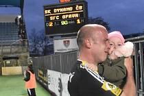 Ivo Táborský po minulém zápase Dynama s Opavou (2:1), ve kterém dal oba góly vítězů. Jediný gól vstřelil i v loňském utkání Táborsko – Dynamo (0:1) na Soukeníku.