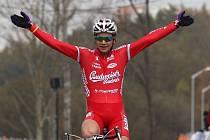 Jakub Skála je největším želízkem Budvaru Tábor pro sobotní mistrovství republiky v cyklokrosu v Mnichově Hradišti.