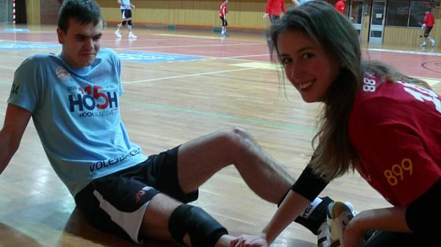 Andrea Chalupová při práci v Jihostroji