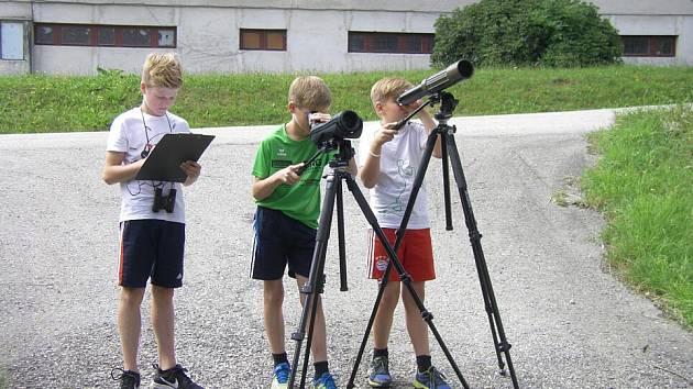 Děti z Haslachu v akci.