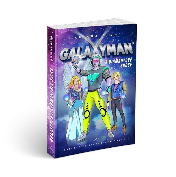 Hlavním hrdinou knihy je vesmírný hudební skladatel Galaxyman a chlapec Dorian Svantovít. Zuzana Krajícová vdechla život kosmickým i duchovním bytostem, které bojují proti šikaně.