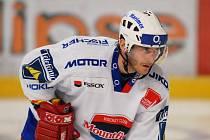Viktor Hübl je nejproduktivnějším hráčem HC Mountfield. Dobrou formu bude chtít potvrdit i ve středu proti Vítkovicím (17.30).
