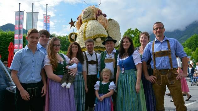 Othmar Schönmaier s rodinou.