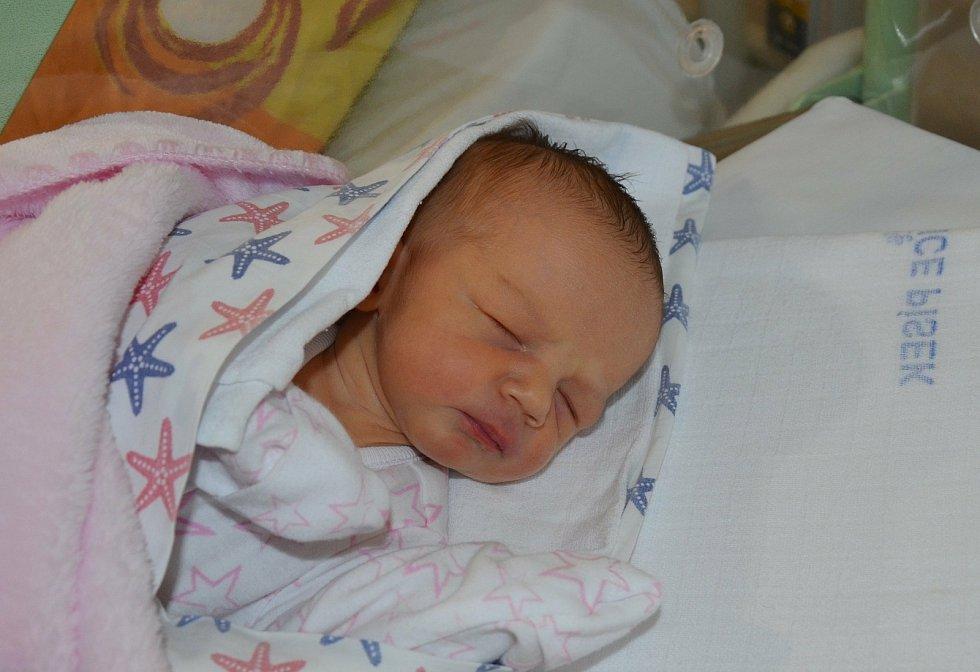 Eliška Faladová z Milevska. Dcera Dany a Zbyška Faladových se narodila 21. 12. 2020 v 8.43 hodin. Při narození vážila 2750 g a měřila 47 cm.