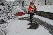 Sněhové žánry z Ločenic, Svatého Jana nad Malší a Velešína.