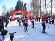 Šumavská 30. Lyžařský závod v Nové Peci u Lipna