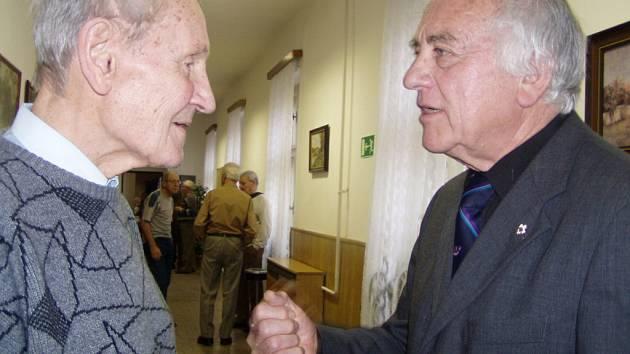 Václav Dvořák (vlevo) a Ivan  Mánek.