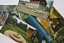 Sběratelské kartičky ze Šumavy.