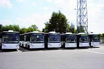 Dopravní podnik města České Budějovice nasadil v těchto dnech na linky další nové vozy.