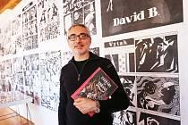Zahrada ve zbrani je jedním ze dvou komiksů, které David B. představil v Táboře na festivalu Tabook. Dva ze tří příběhů zasadil autor do dob husitů a adamitů. Knihy vydalo nakladatelství Tabook.