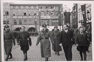 Německá okupace Českých Budějovic.